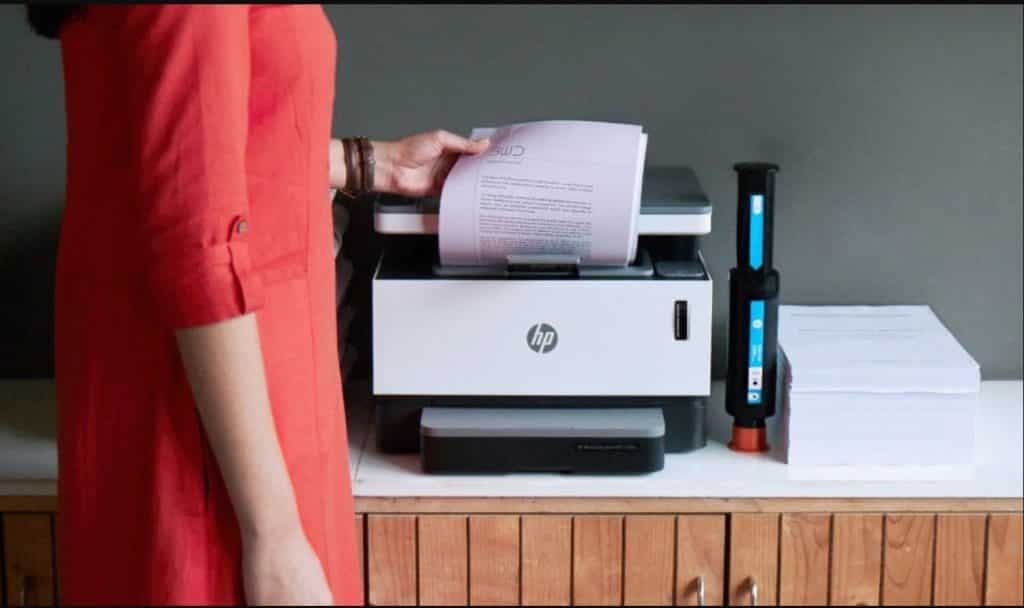 impresora con escaner laser