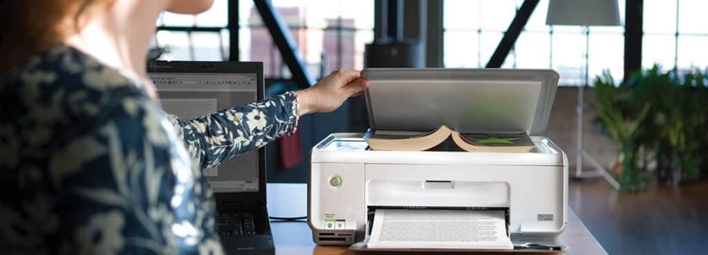 impresora con escaner para digitalizar libro