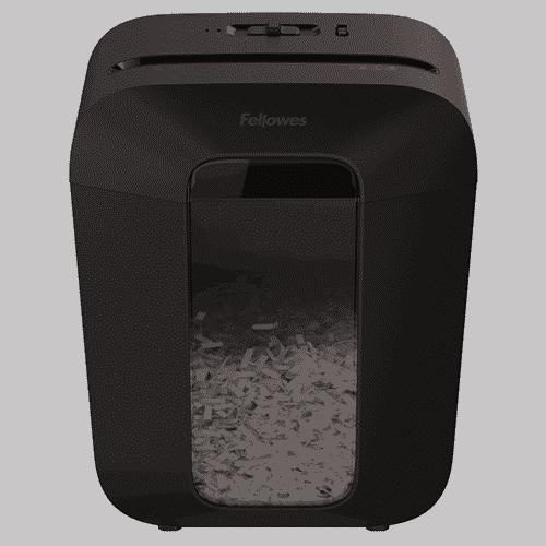trituradora de papel Fellowes LX 50 diseño bonito y elegante
